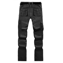 16 colors Mens Military Army Camouflage Cargo Pants Top Selling Multi-pocket Camouflage Mens Cargo Pants Good Quality Casual Men Trousers