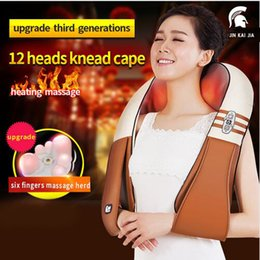Wholesale Malaxation Massage Cape Cervical Vertebra Massage Instrument Neck Massage Device Car Multifunctional Home Full body