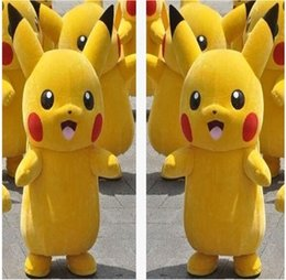 High quality Picacho mascot costume popular yellow Picacho cartoon Costume Mascot Adult Costume Party Dress Halloween Costume