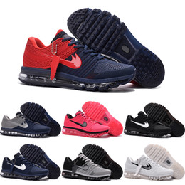 Drop Shipping Wholesale Running Shoes Men Women Cheap Air Cushion 2017 Plastic Sneakers High Quality 2016 Sports Shoes For Sale Size 5.5-13