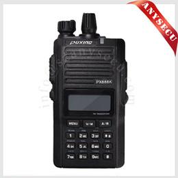 Portable radio PUXING walkie talkie PX-888K dual band dual display VHF136-174&UHF400-480Mhz two way radio PX888K for work