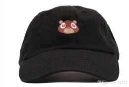 Wholesale Kanye West Ye Bear Dad Hat Lovely Baseball Cap Summer For Men Women Snapback Caps Unisex Exclusive Release Hip Hop Hot Style Hat
