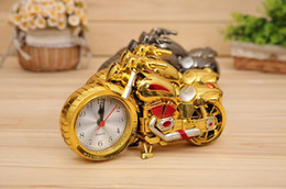 Locomotive modeling toys, creative children's toys. Cool Motorcycle Alarm, creative home gifts