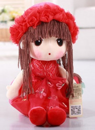 Wholesale Soft Toy Flowers - 2016 Christmas gifts. Children Toys. Girls gifts. Lovely flower fairy. Plush Doll. Dolls. A birthday present. Plush toys. Girl doll.