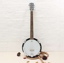 Wholesale 6 string Banjo Exquisite Professional Sapelli Notopleura Wood Alloy