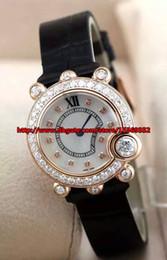 Fashion luxury business distinguished precision imported quartz movement waterproof Diamond Sapphire mirror exquisite belt Ladies Watch