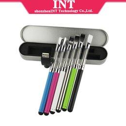 Wholesale Ali baba new product round trip tip3 v voltage mah thread e cig vape pen vaporizer kits