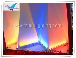 8 pieces a lot outdoor stage lighting 36x3w rgb led flooding light ip65 dmx led wall washer, led bar dmx