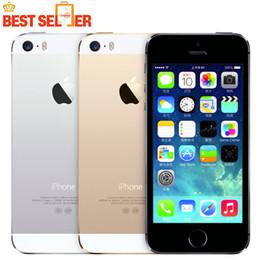 Wholesale 2016 Hot Sale Smartphone Original Unlocked Apple Iphone S A7 Dual core MP Camera GSM WCDMA LTE IOS Multi Language Cell phone