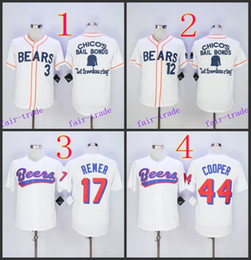 Wholesale Bad News BEARS Movie Button Down Jersey Baseball Jersey Cheap Rugby Jerseys Authentic Stitched Size