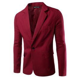 2017 New Arrival Mens Blazers Casual Slim Jacket Men Suit White Black Blazer Masculino Top Quality men casual suit