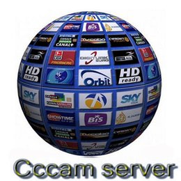 Wholesale Best CCcam Europe Cline Server year Stable account Satellite Decoder UK Spain Germany France Italy in1 RCA Cable DHL Free