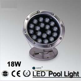 IP68 LED fountain light LED pool light Led underwater light, piscina , 18W 24VAC Led landscape spot lamp LPL-A-18W-24V