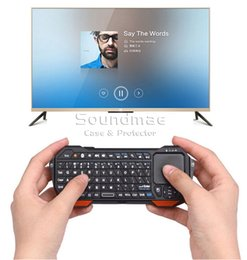 Wholesale SEENDA G Mini Touchpad Wireless Keyboard Self learning Remote Control Keyboard For TV DVD Laptop PC Tablet Windows Android ios