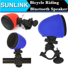 Wholesale Bicycle Bike Outdoor Riding Mount Holder Portable Mini Wireless Bluetooth Speaker With Mic For iPhone Samsung Note LG