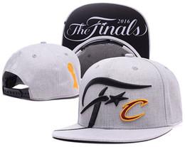 Wholesale Finals SnapBack Hat Cleveland CAVS Locker Room Official Basketball Snap Back Hats Black Hip Hop Snapbacks High Quality Players Sports