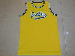 Wholesale Mens Cheap Throwback Basketball Jerseys BIGGIE SMALLS BAD BOY Basketball Jersey Stitched Jerseys