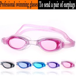 Wholesale Professional Anti Fog Swimming Goggles Coating Kids Swim Glasses Boy Girl Children Goggles Sports Baby Swim Eyeglasses