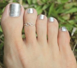 Fine jewelry Good Luck Smooth Foot Ring Finger Dual-purpose Ornaments Free Shipping