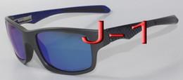 Polyuréthane plastique à vendre-2016 Classiques Jupiter Carbon Sports Lunettes de soleil Polarized Oculos Femmes Hommes noir cadre en plastique feu rouge Iridium miroir flash 4066