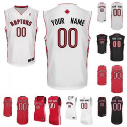 Wholesale Custom Toronto Embroidery Logos Customized Any Name And Number Men Women youth DeRozan Lowry Carter McGrady ross jersey