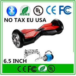 IN STOCK!!! NO TAX Smart Electric Speaker Hoverboard Bluetooth Self Balancing Scooters 6.5 INCH Two Wheels Skateboard Scooter Balance Wheel
