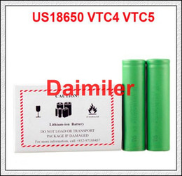 Wholesale Perfect rechargeable batteries for sony li ion battery US18650 VTC3 VTC4 VTC5 vs aa rechargeable battery