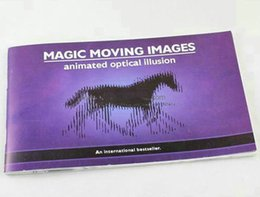 Wholesale Classic Toys Magic Tricks Magic Moving Images Animated optical illusions Best Gift for Kids Funny children magic magic toy