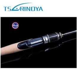 Wholesale Tsuriniya m UL Spinning Fishing Rod ultra light Carbon Firber Fishing Pole Articulos De Pesca Spinning Rod