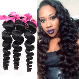 Brazilian Loose Wave Virgin Hair 4pcs lot Brazillian Virgin Hair 7a Unprocessed Virgin Hair Brazilian Loose Wave Unprocessed Human Hair 100g