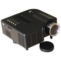 Wholesale UC28 with HDMI Mini Micro AV LED Digital Video Game Projectors Native X Multimedia player Inputs AV VGA USB SD