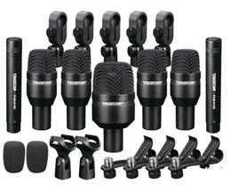 Wholesale New Hot drums Dynamic bass instrument pickup Takstar DMS D7 Drum Set Series Kit Microphones Condenser microphone kits DHL EMS