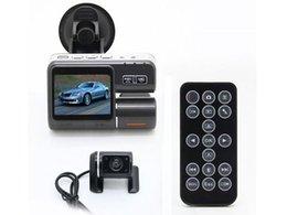 Cámaras de lentes de porcelana en Línea-Cámara de lente dual I1000 Auto DVR de coche Cámara dual HD1080P Dash Cam Grabadora de conducción con aparcamiento Cámaras de lente trasera GI2211