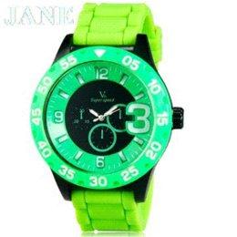 La montre-bracelet pour hommes en Ligne-V6 0222 Super Speed Mode Hommes de luxe de marque Casual Watch Double Dial de sport Montre Analogique de poignet -2