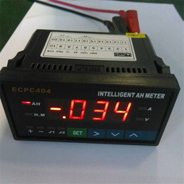 Intelligent Amp Hour Meters Top Quality Blue Digital LCD Display Battery Testers Meter for Lithium Batteries GNED046