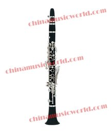 2016 clé eb Gros-Chine World Music de haute qualité Eb 17 Clés clarinette (CMWCL-570) bon marché clé eb