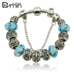2016 New 925 Silver plated without Threaded Screw Core Fascinating Faceted Murano big hole Glass Beads Fit Pandora Charm DIY Jewelry