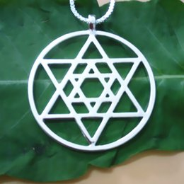 Wholesale Supply Handmade Star of David pendant Silver Gold plated necklaces & pendants for women pendant Free Shipping