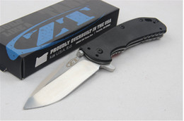 Wholesale Newer recommended Zero Tolerance ZT folding knife camping hunting knife folding knife d2 strider fox