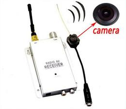Acheter en ligne Caméra pour la sécurité cctv-Caméra Nanny New Mini Wireless Security Invisible sténopé Micro Cam CCTV DVR Système complet Livraison gratuite