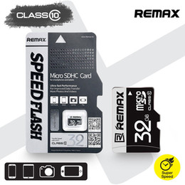 Wholesale 32GB Micro TF Card SD Card Original Remax Brand Ultra Fast Speed Mbs Class Full Capacity with Retail Package
