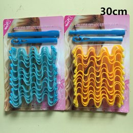 30cm Packaging DIY MAGIC LEVERAG Magic Hair Curler Roller Magic Circle Hair Styling Rollers Curlers Leverag 01