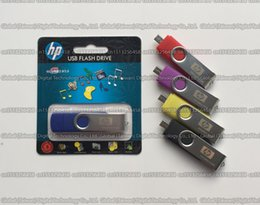 Wholesale DHL shipping GB GB GB GB HP OTG usb flash drive pendrive USB3 memory stick Mobile phone OTG USB External storage disk