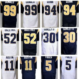 Wholesale Stitched Todd Gurley II Jersey Nick Foles Tavon Austin Alec Ogletree Robert Quinn Aaron Donald stitched elite Jersey