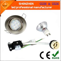 Wholesale Small lantern led MR16 GU10 W led ceiling light sets adjustable angle hole size MM ceiling led spotlight