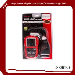Wholesale 100 Original Autel AutoLink AL319 AL Next Generation OBD II EOBD Code Reader Works on ALL and newer vehicles OBD II CAN