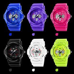 Wholesale shock digital analog watches men women LED electronic Day m dive army G type sport watch relogio masculino feminino lady