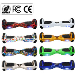Wholesale USA STOCK Inch Smart Balance Wheel Electric Skateboard Unicycle Drift Self Balancing Hoverboards Scooter