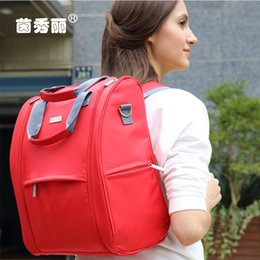 10 Colors Large Capacity Travel Baby Diaper Backpacks Waterproof Nappy Bags Multifunctional Changing Bags For Mommy