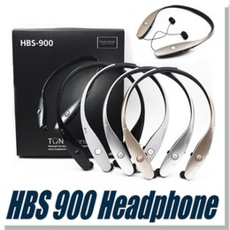 Wholesale For HBS Bluetooth Headphone Earphone For HBS900 Sports Stereo Bluetooth Wireless HBS Headset Headphones For LG No logo Not Original